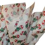 Christmas Candy Canes Patterned Tissue Paper