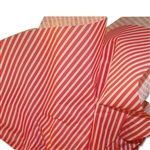Christmas Dizzy Diagonals Red Patterned Tissue Paper