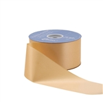 Gold Flora-Satin Ribbon - 2 widths