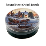 Round Tamper Proof Heat Shrink Bands