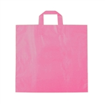 Medium Hot Pink Frosted Soft Loop Ameritote Bags