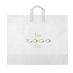Custom Printed Plastic Bags - Ameritotes Frosted Clear