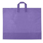 Large Purple Grape Frosted Soft Loop Ameritote Bags