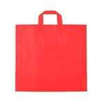 Medium Red Frosted Soft Loop Ameritote Bags