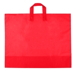 Large Red Frosted Soft Loop Ameritote Bags