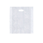"Medium 12"" x 15"" Frosted Merchandise Bags"