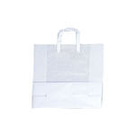 Medium-Square Frosted Shopping Bags