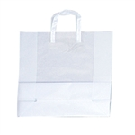 Large-Square Frosted Shopping Bags