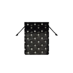 Mini Polka Dot Organza Bags Black/White