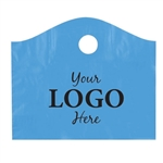 Custom Printed Plastic Bags - Super Wave Lagoon Blue