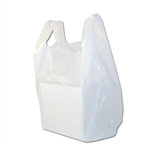 Medium White Plastic T-Shirt Bags