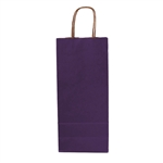 Single Bottle Purple Wine Bags