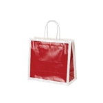 San Francisco Shopping Bags-Medium Bridge Red