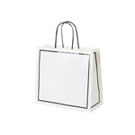 San Francisco Shopping Bags-Medium White