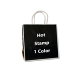 1 Color Hot Stamped Medium San Francisco Bags