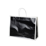 San Francisco Shopping Bags-Large Alcatraz Black
