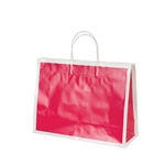 San Francisco Shopping Bags-Large Fillmore Fuchsia