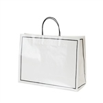 San Francisco Shopping Bags-Large Fisherman's Wharf White