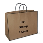 1 Color Hot Stamped Large San Francisco Bags