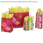 Mod Ornaments Patterned Shopping Bags