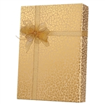 Shamrock Gift Wrap Golden Cheetah M-5491