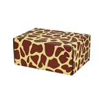 Small Giraffe Patterned Shipping Boxes - 6 Pack