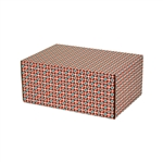 Small Moderno Patterned Shipping Boxes - 6 Pack