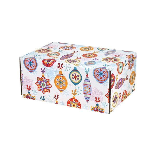 Christmas Ornaments Small Decorative Shipping Box 6 Pack 9 5 X 6 25 X 3 3 4