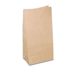 12 lb. SOS Paper Bags - Smooth Kraft