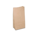 4 lb. SOS Paper Bags - Smooth Kraft