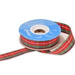 Stewart Plaid Polyester Ribbon