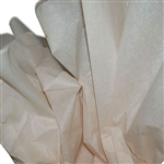 "Tan Tissue Paper - 20 x 30"" - 480 Sheets per Ream"
