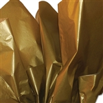 Gold Metallic Satinwrap tissue