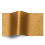 Copper Metallic Satinwrap tissue