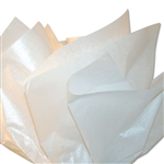 Pearlescence Satinwrap tissue White