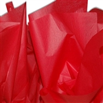 Colored Tissue Paper - Cherry Red