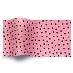 Speckled Raspberry Printed Satinwrap tissue
