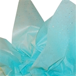 Gemstones Satinwrap tissue Aquamarine