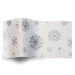 Diamond Snowflakes Gemstones Tissue Paper