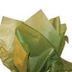 Pearlescence Satinwrap tissue Green Tea
