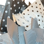 Black & White Assortment Tissue Paper