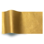Embossed Gold Linen Satinwrap tissue