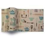 Grandma's Kitchen Printed Satinwrap tissue