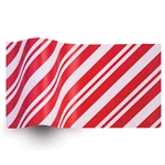 Peppermint Stripes Satinwrap tissue