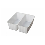 2 Cavity Tin Insert for 2SQS Square Tins - 72 Inserts/Pack