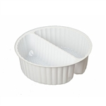 2 Cavity Tin Insert for 3C Round Tins - 72 Inserts/Pack