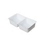 2 Cavity Tin Insert for 3RECS Rectangle Tins - 72 Inserts/Pack