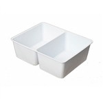 2 Cavity Tin Insert for 4RECS Rectangle Tins - 72 Inserts/Pack