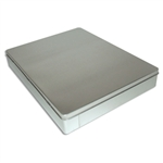 Hinged Deep Presentation Folder tin