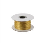 Gold Tiny Tinsel Cord (non-stretch)